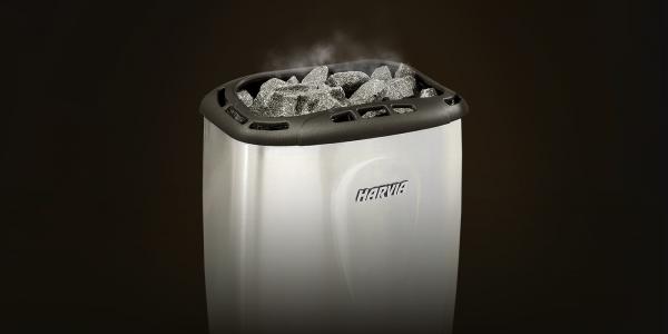 Электрическая печь Harvia Moderna 4.5 кВт (платина) (выносной пульт)