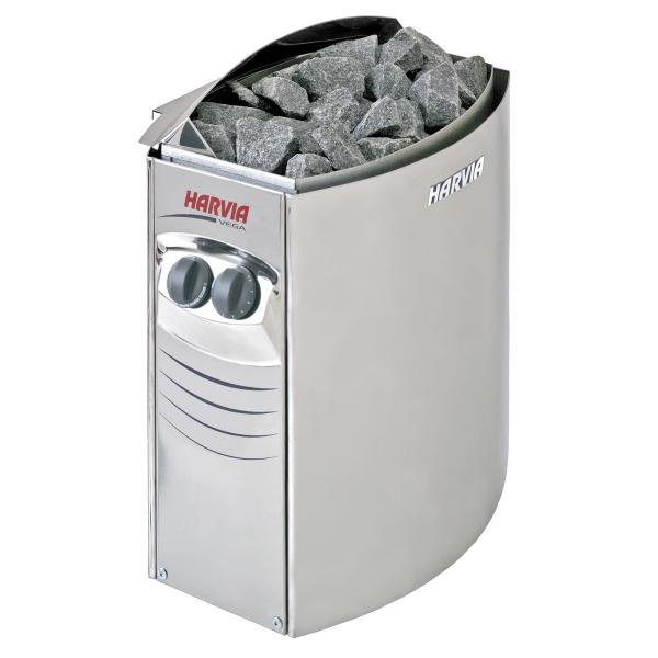 Электрическая печь Harvia Vega 4.5 кВт (встроенный пульт)