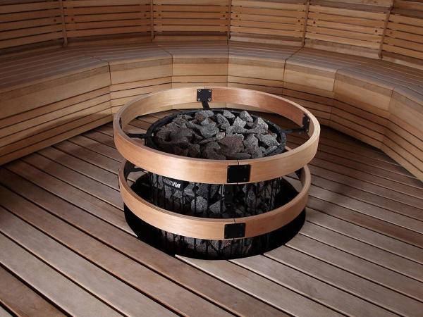 Электрическая печь Harvia Cilindro 9 кВт (встроенный пульт)