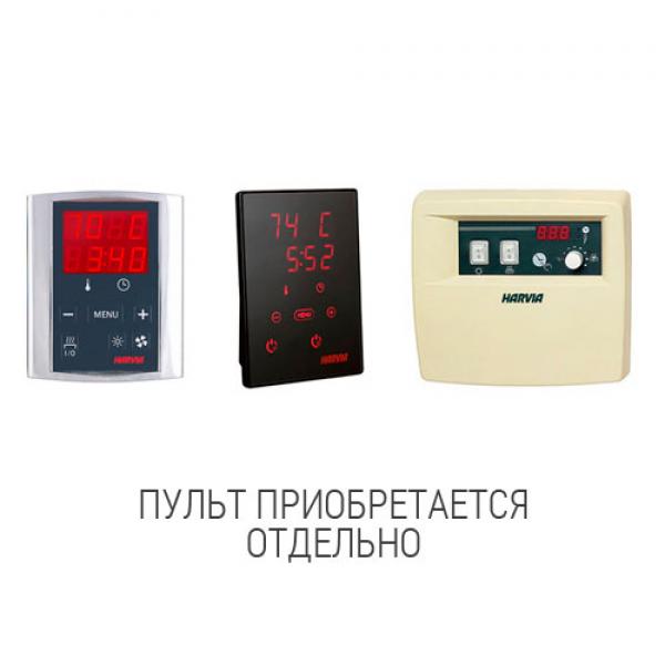 Электрическая печь Harvia Cilindro HЕ 6.8 кВт (без пульта)