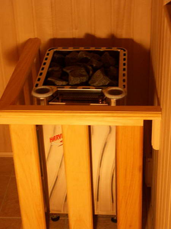 Электрическая печь Harvia Senator Combi Automatic 7 кВт  (без пульта)