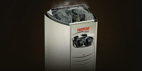 Электрическая печь Harvia Vega Compact 3.5 кВт (встроенный пульт)